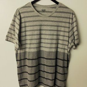 Mossimo Supply Co Striped T Shirt Tee Cotton Short Sleeve Active Surf XL